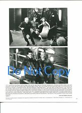 Dennis Hopper John Leguizamo Samantha Mathis Super Mario Bros Movie Press Photo