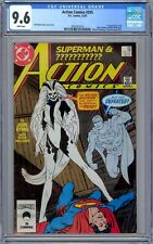 CGC 9.6 Action Comics #595 1st Appearance of the Silver Banshee.