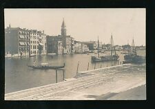 Italy Venice VENEZIA canal scene view c1902 u/b RP PPC