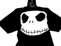 Disney The Nightmare Before Christmas Tim Burton Black T Shirt Womens Sz M Med