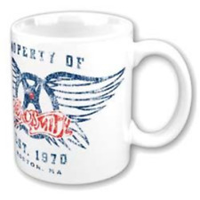 AEROSMITH PROPERTY OF - LOGO - MUG (11OZ) (BRAND NEW IN BOX)