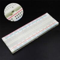 MB-102 Solderless Breadboard Protoboard 830 Tie Points 2 Buses Test Circulu