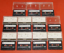 11 TDK SA 90 Cassette Kassette Tape IEC II  High Position Super Alivyn JAPAN
