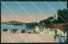 Verona Peschiera del Garda Battello PIEGHINA cartolina QT4617