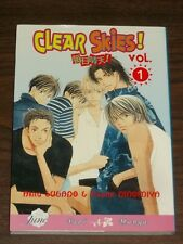 Clear Skies! Vol 1 by Akira Sugano Yaoi Manga (Paperback, 2008)< 9781569705759