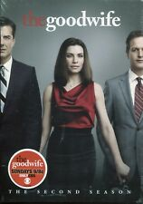 The Good Wife: The Second Season (DVD 2011 6-Disc Set) NEW Sealed Free Shipping