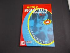 * Masters Of Rock Guitar-2-New Generation-Vol2 Songbook
