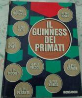 IL GUINNESS DEI PRIMATI A CURA DI NORRIS E ROSS MC WHIRTER MONDADIORI 1968
