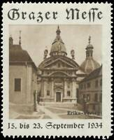 6 September 1934 Reklamevignette Wiener Messe vom 2