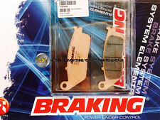 HONDA NT HAWK GT 650 1988 88 PASTIGLIE ANTERIORE SINTERIZZATE FRENO BRAKING CM55