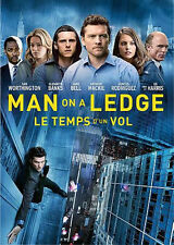 Man on a Ledge (DVD) Sam Worthington, Ed Harris, Elizabeth Banks NEW