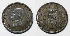 ESPAÑA.  ALFONSO XIII.  2 CÉNTIMOS 1911*11 PCV.     EBC