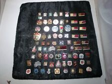Soviet Union Era CCCP Pinbacks Lot of 75 Pieces