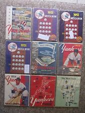 Yankees Yearbooks. COMPLETE SET. EVERY EDITION. 1950-2011. 129 Different