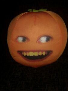 Annoying Orange Speaking Plush 12 inch see photos restitched