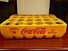 nice Yellow Red Drink Coca Cola in bottles crate carrier pakster 2410