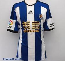 REAL SOCIEDAD Adidas Maglia Partite In Casa 2014/15 S,M,L,XL Camiseta Jersey
