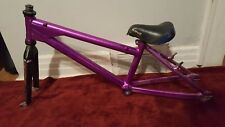 "OLD SCHOOL BMX 90s POWERLITE JUNIOR ANSWER SCYTHE FORK 17"" TOP TUBE NO CRACKS"