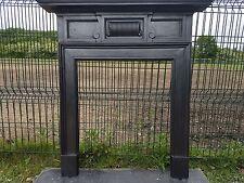 111 Cast Iron Surround Victorian Stove Log Burner circa 1891 Original Antique