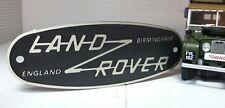 Toylander Land Rover Series 1/2 Scale Etched Birmingham Tub Grille Badge