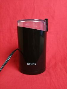 Krups F203 Electric Spice and Coffee Grinder Stainless Steel - Black