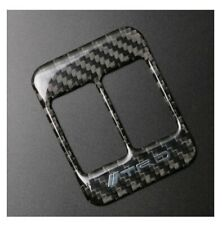 Toyota FT86 Carbon Fiber Seat Heating Button Trim Decal - Type 2 New Scion