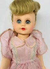 Vintage Eegee Susan Stroller - Hard Plastic Walker Doll - Bent Knees - Dressed