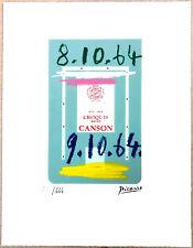 PABLO PICASSO - Le Gout du Bonheur - Farblithografie nummeriert und signiert