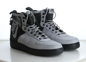 A15 $160 Men's Size 10.5M Nike SF Air Force 1 Mid in Wolf Grey