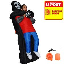 Inflatable Costume Halloween Ghost Scary Air Blow Up Toy