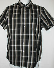 Authentic Oakley Mens Ranger Woven Checkered Shirt Top polo Small BNWT