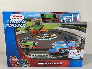 THOMAS & FRIENDS Train Toy TRACK MASTER MOTORIZED RAILWAY RAILWAY RACE SET NEW