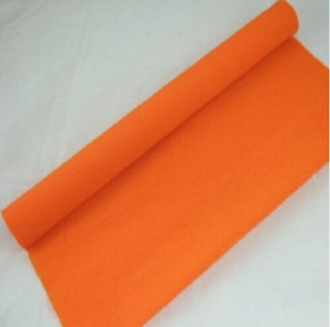 1 Orange Crepe paper Roll 10 metres x 50cm by shop@clikkabox