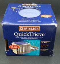 Kensington QuickTrieve Zip Disk Storage Holds nine
