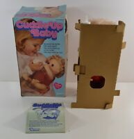 Vintage Kenner Cuddle Up Baby Doll w/ Bottle Complete in Box 1979