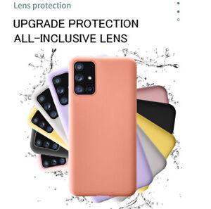Luxury Silicone Soft Skin TPU Back Case For Samsung Galaxy A 51 71 11 20 31 S FE