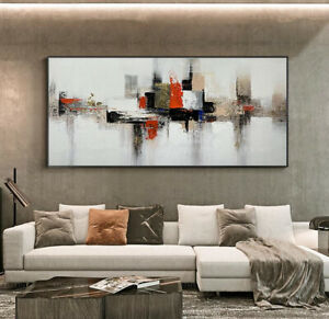 YA1206 Modern 100%Hand-painted abstract oil painting Sofa backdrop decor