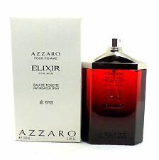 ELIXIR FOR MEN POUR HOMME BY AZZARO EAU DE TOILETTE SPRAY 100 ML/3.4 FL.OZ. (T)