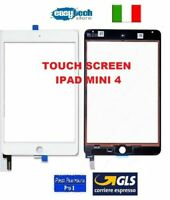 TOUCH SCREEN Vetro iPad Mini 4 A1538 A1550 Connettore IC  Bianco