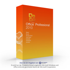 Microsoft Office 2010 Professional Plus MS Pro esd Word Exel Outlook Power Point
