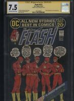 Flash #217 CGC 7.5 SS Neal Adams GREEN LANTERN 1972