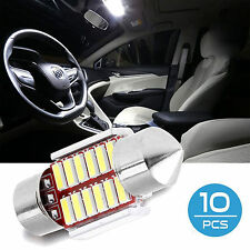 10x 31mm 36mm 39mm 41mm Canbus Car Interior License Plate Festoon Dome Led Light