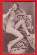 Glamour, Risqué nudes, Erotic card, approx 1920's.