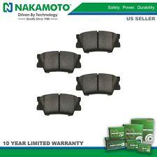 Nakamoto Rear Premium Posi Ceramic Brake Pad Pair Set for Toyota Lexus Pontiac