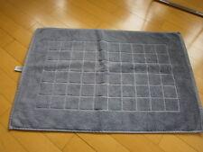 Badezimmer Matte Vorleger Aquarelle grau 70 x 48  cm