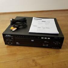 Apex AD-5131 3-Disc Carousel DVD / Karaoke Player W/ 2 Microphone Input Inputs