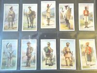 1929 Churchman WARRIORS OF ALL NATIONS comp. set of 25 Tobacco Cigarette cards