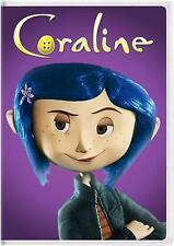 Coraline DVD - 2009 Widescreen Tim Burton