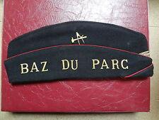 Ancien calot coiffe ARTS et METIERS - BAZ du PARC - Taupe de Lattre - XA1