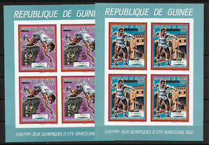 Guinea,1987,Olympic,imperf,MS,compl,MNH
